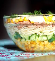 Sałatka z tuńczykiem Kobieceinspiracje.pl Easter Recipes, Salad Recipes, Salads, Food And Drink, Vegetables, Crochet, Projects, Polish Cuisine, Food And Drinks