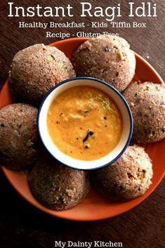 Ragi idli is an instant idli recipe that takes l3ss than 30 minutes to prepare. This is one of the healthy and gluten free breakfast recipe. Ragi or finger millet is a gluten free cereal and makes excellent kids and toddlers food. This is a healthy breakfast recipe that is quick and easy. #instantidli, #healthybreakfast, #quickbreakfast, #kidstiffinboxrecipes, #easyfingerfood, #toddlersfoodidea, #schoollunchboxidea, #glutenfreerecipe