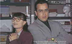 """Jorge Enrique y Ana Maria en """"Betty la Fea"""""""