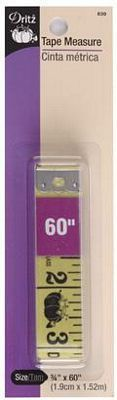 "Tape Measure 3/4""x60"""