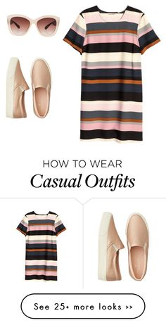 """casual"" by kiky-miskovic on Polyvore featuring American Eagle Outfitters, H&M and Eloquii"