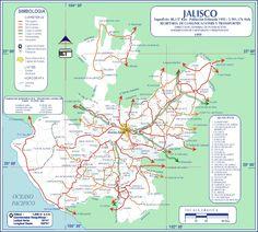 I WANT MY TEQUILA BY THE BARREL ...jalisco mexico | de jalisco mapa de rutas de jalisco fecha 12 10 07 tamano 640x576 ...