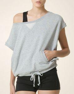 Oysho Cropped Sweatshirt