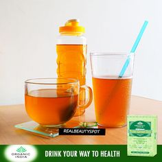 I have been drinking Organic India Tulsi green tea for about a year now, and...