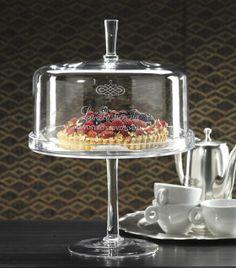 La Pasticceria Footed Plate with Dome - Dinnerware - Tabletop - Home Decor | HomeDecorators.com $189