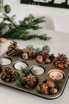 Diy Crafts For Home Decor, Diy Crafts For Adults, Decoration Crafts, Outdoor Christmas, Rustic Christmas, Christmas Projects, Christmas Time, Christmas Print, Etsy Christmas