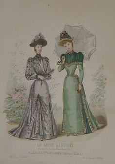 1892. Promenade dresses.