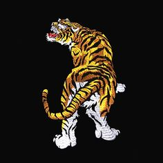 large back patch large patch tiger Patch animal embroidered patch iron on patch embroidery patch sew on patch iron on patches