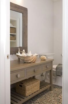shell sink- amazing!