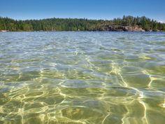Hague Lake, Cortes Island, BC