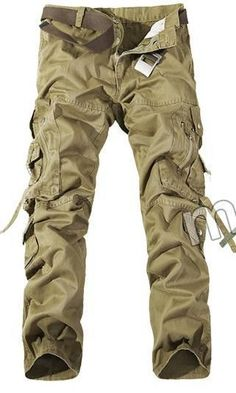 Top Fashion Multi-Pocket Solid Mens Cargo Pants High Quality Plus Size Men Trousers Size Men Trousers, Mens Trousers Casual, Work Trousers, Men Casual, Casual Pants, Work Pants, Work Overalls, Men's Pants, Workwear Trousers
