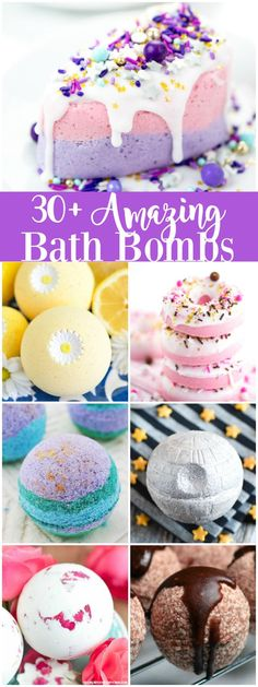 The best DIY projects & DIY ideas and tutorials: sewing, paper craft, DIY. DIY Skin Care Recipes : Creative Bath Bombs - These amazing bath bomb recipes and tutorials make a great handmade gift for birthdays, holidays and Homemade Beauty, Homemade Gifts, Homemade Birthday Gifts, Diy Masque, Bath Boms, Homemade Bath Bombs, Diy Bath Bombs, Making Bath Bombs, Bath Bombs Kids