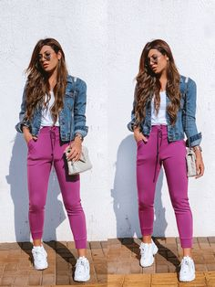 Looks Style, Casual Looks, My Style, Cool Outfits, Casual Outfits, Athleisure Outfits, Love Fashion, Womens Fashion, College Fashion