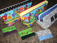 Take Along bags for triplets   pouch bag