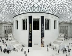 British Museum, London. Designed by Sir Norman Foster