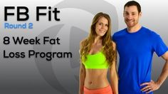 Welcome to FBFit Round 2; all new workouts & all new challenges. Our 8 Week Fat Loss Programs use our online workout calendar to provide a detailed, day-by-day plan of workout videos to quickly & safely change your body & your health with HIIT, strength, yoga, cardio, plyometrics, stretching, Pilates, supersets, and more. Workouts are 5 days a week, with an optional 6th day of stretching or yoga & the workout sessions average out to roughly 50 minutes each. Change your body & your life!