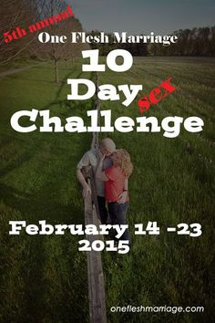 Who is ready for 10 days of sex with their spouse? 10 days of growing making time for each other. 10 days of growing emotional, spiritual and physical intimacy together! The annual 10 Day Chall… Marriage Advice Quotes, Marriage Day, Godly Marriage, Saving Your Marriage, Save My Marriage, Relationship Advice, Relationships, Broken Marriage, Healthy Marriage