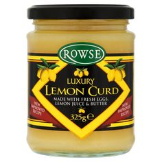 """Conosciuto anche come """"Lemon Cheese""""... -- Also Known as """"Lemon Cheese""""...  #ciboinglese #rowses #lemoncurd #dolce  -->http://www.richmonds.it/item/rowse-luxury-lemon-curd-325g.html"""