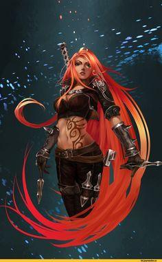 League Of Legends,лига легенд,фэндомы,Katarina