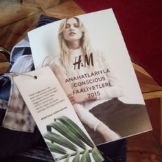 #hmtasarimbienalinde #fashion &  #sustainability @tasarimbienali Re-post by Hold With Hope