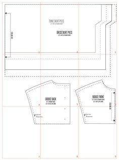 tunic pattern layout