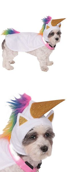 Costumes 52352: Dog Halloween Dress Up Costume Light Up Unicorn Cape With Hood -> BUY IT NOW ONLY: $37.16 on eBay!