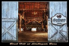 Our authentic antique barn offers an amazing and unique background for your event. Birch Hill Events #NY #Wedding #Albany