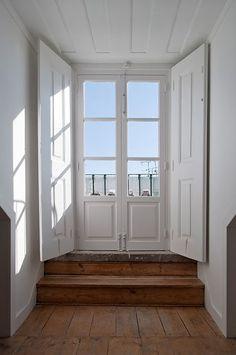 #White door