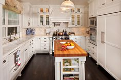 Charming Cape Cod inspired kitchen