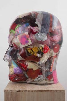 RESIN HEADS - Sculptures - Richard Dupont Modern Art Sculpture 6647e1f3313