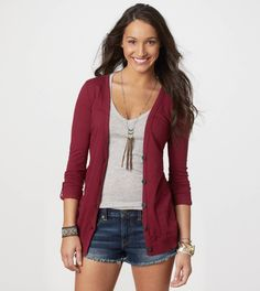 cardigan or something like this. I have a grey one and a maroon one.