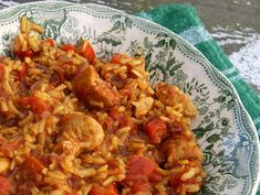 Jambalaya, czyli moje nowe uzależnienie! Polish Recipes, Calzone, Jambalaya, Chinese Food, Fried Rice, Food To Make, Food And Drink, Menu, Dinner