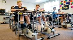 Image result for under desk bicycle school