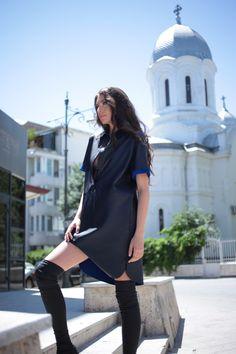 8ls.ro Cold Shoulder Dress, How To Wear, Dresses, Fashion, Vestidos, Moda, Fashion Styles, The Dress, Fasion