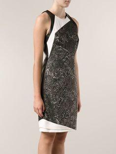 J. Mendel Two Tone Dress - Julianne - Farfetch.com