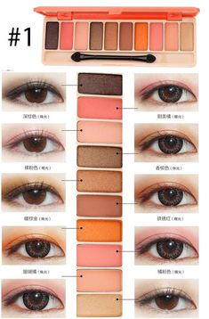 Phấn mắt Lameila có tốt không? Review chi tiết bảng phấn mắt Lameila Korean Eye Makeup, Korea Makeup, Asian Makeup, Makeup Lessons, Makeup Tips, Beauty Makeup, Peachy Makeup Look, Pretty Makeup, Eyeshadow Makeup