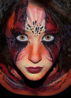 Amazingly Detailed Face Painting