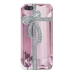 This fashionable Pink Diamond iPhone Case will make a statement with it's beautiful Tiffany diamond cut. Fantastic gift idea for the ladies...