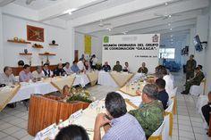 Encabeza Murat reunión del Grupo de Coordinación Oaxaca en la Cuenca del Papaloapan