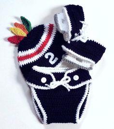 Crochet Chicago Blackhawks Hat Chicago by LittleAngelssecret, $48.00