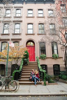 West Village Holiday Engagement Session by Kate Headley - Inspired By This