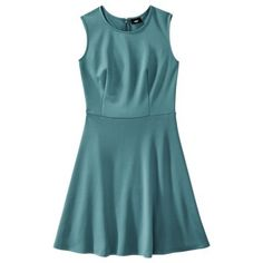 Mossimo® Women's Fit and Flare Scuba Dress - Assorted Colors