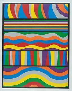 Linear Composition - Sol LeWitt: