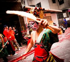 The Eight Generals_parade (Taiwan Culture)