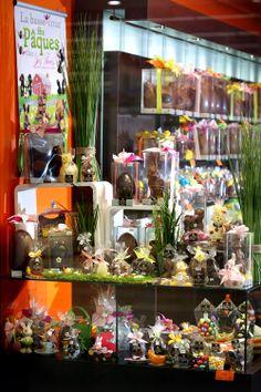 Pâques 2014 dans la boutique Les Chocolats Yves Thuriès de Gaillac