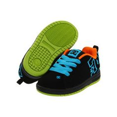 f58a35e0 DC Shoes DC Kids Court Graffik SE Boys Shoes - Black Boys Shoes, My Boys