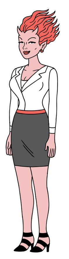 Callie Maggotbone from Ugly Americans byDevin Clark