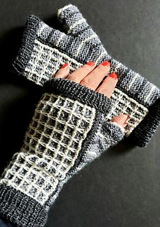 Ravelry: Greyscales pattern by Ute Nawratil Needles Sizes, Slip Stitch, Knitting Socks, Fingerless Gloves, Arm Warmers, Mittens, Ravelry, Slippers, Pattern