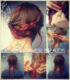#howto #hair #braids #dealflower #pretty