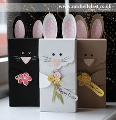 Easter Bunny Box using Stampin Up supplies by Michelle Last www.michellelast.co.uk for tutorial and video